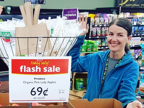 ashley p with flash sale apples.jpg