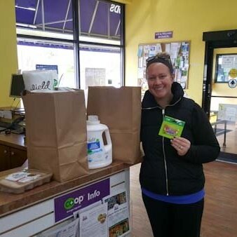 Congrats to Emily Broten, our Own It In October winner of $200 in prizes to celebrate Co-op Month. Welcome to the Co-op, Emily!