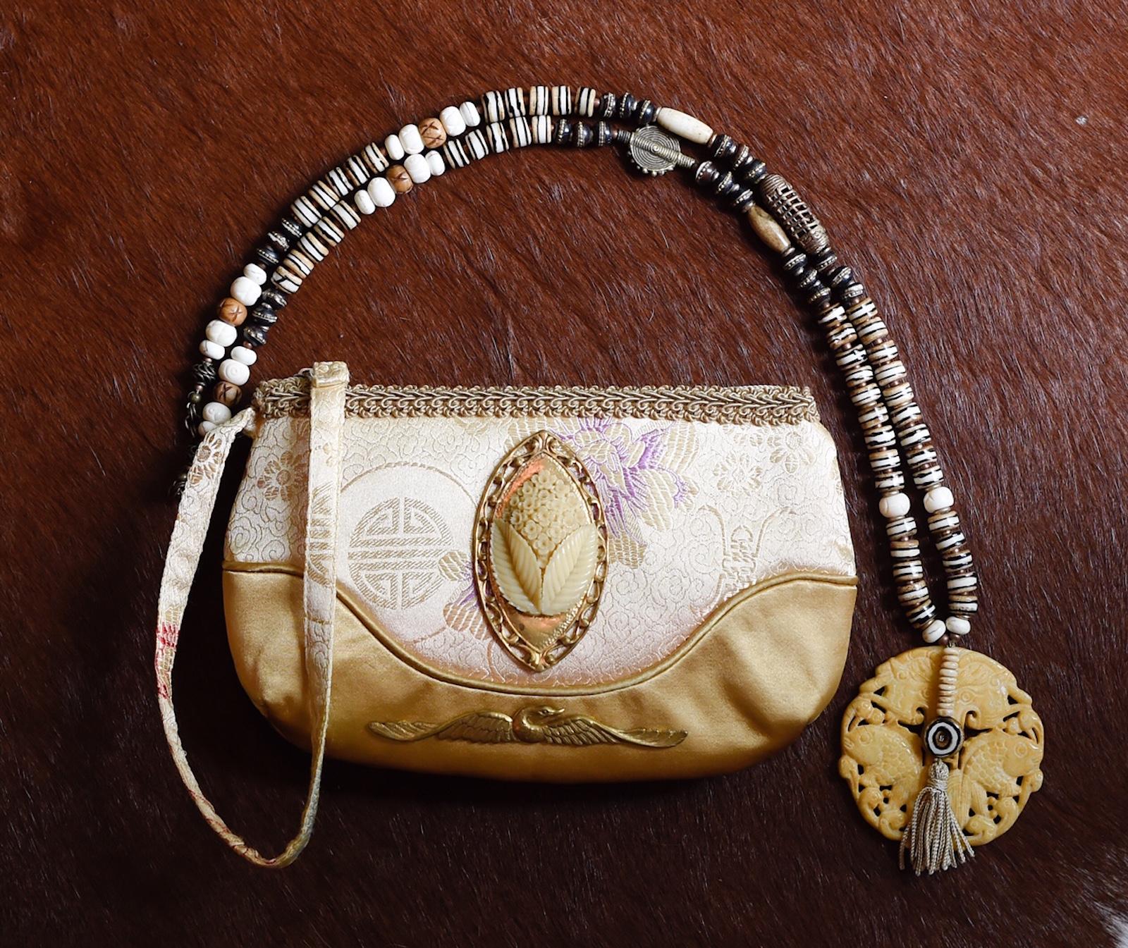 "Juxtaposition, Jewelry, Handbags, 32"" x 8"""