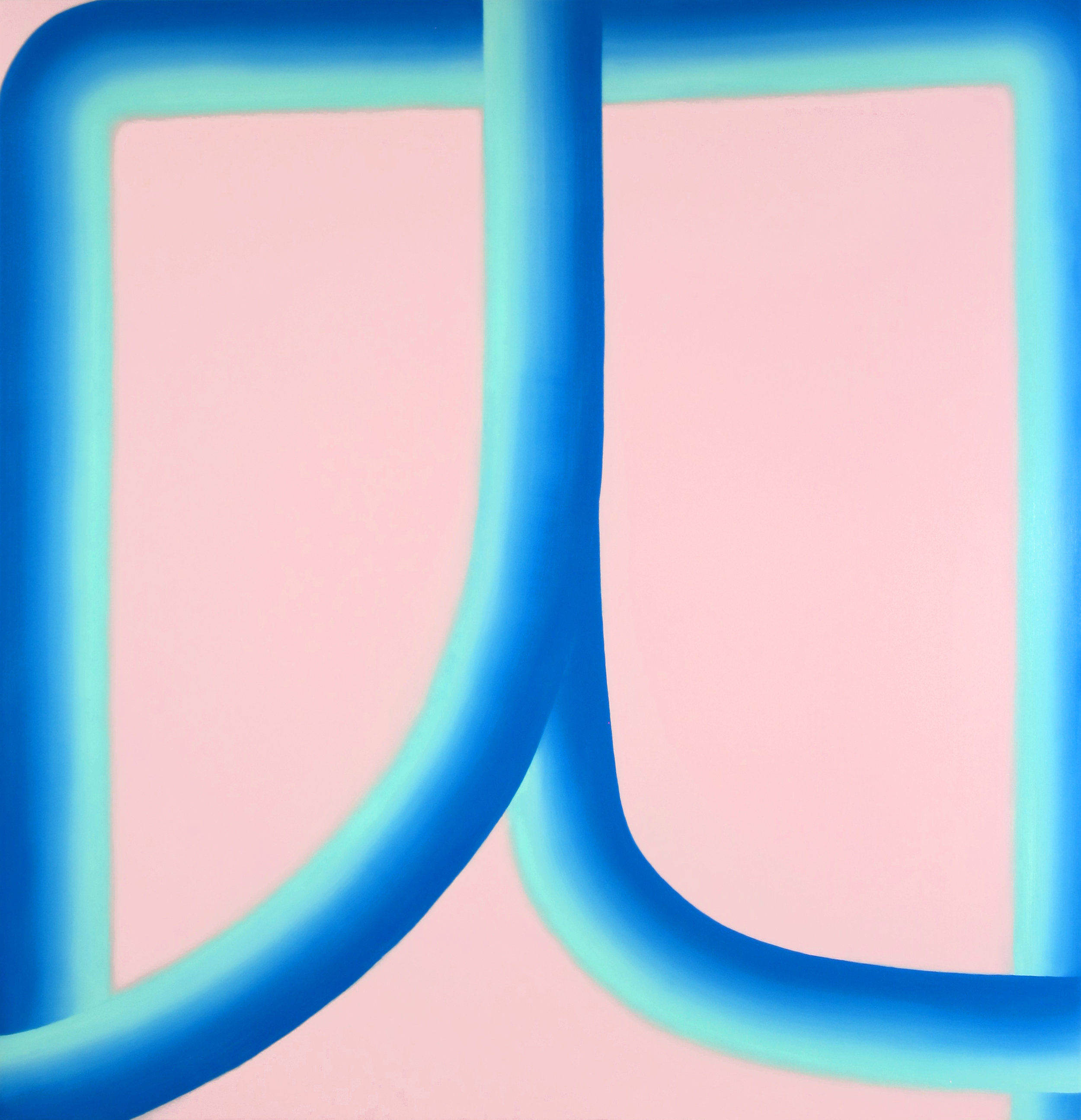 "Water Boy, Oil on Canvas, 60"" x 58"""