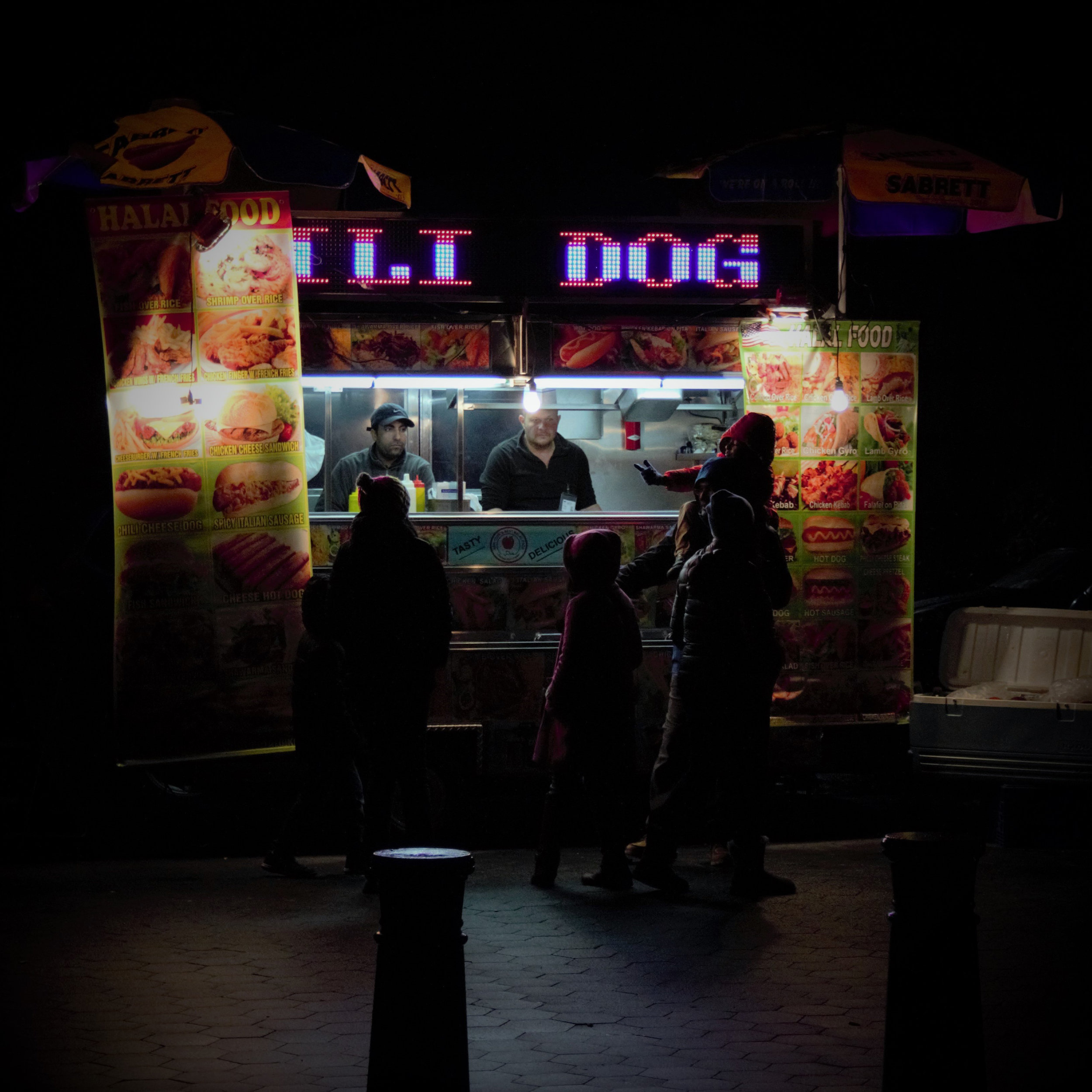 "Hot Dog Stand, Photography, 24"" x 24"""