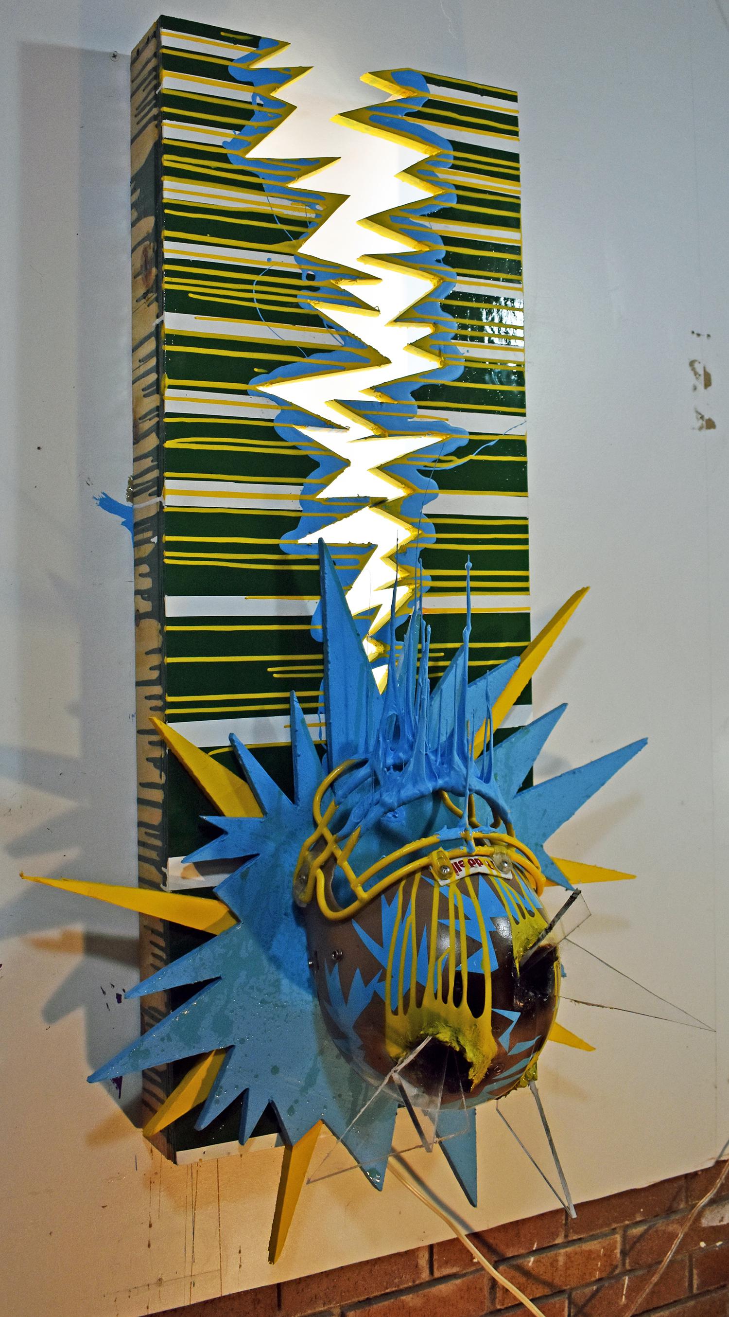 """ReverseField, Sculpture, 46"""" x 32"""" x 18"""""""