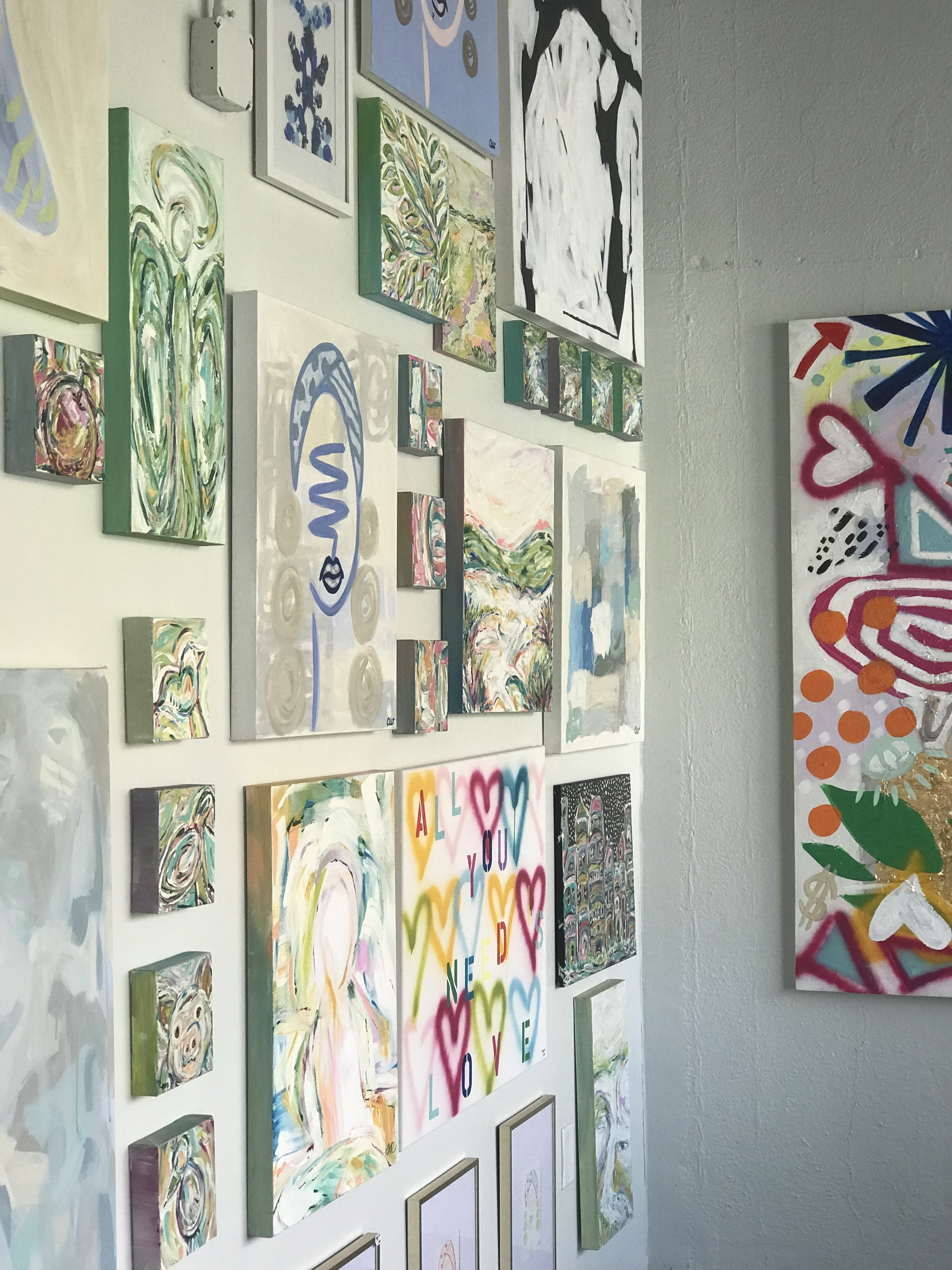 Collective Gallery Wall, Acrylic, Various