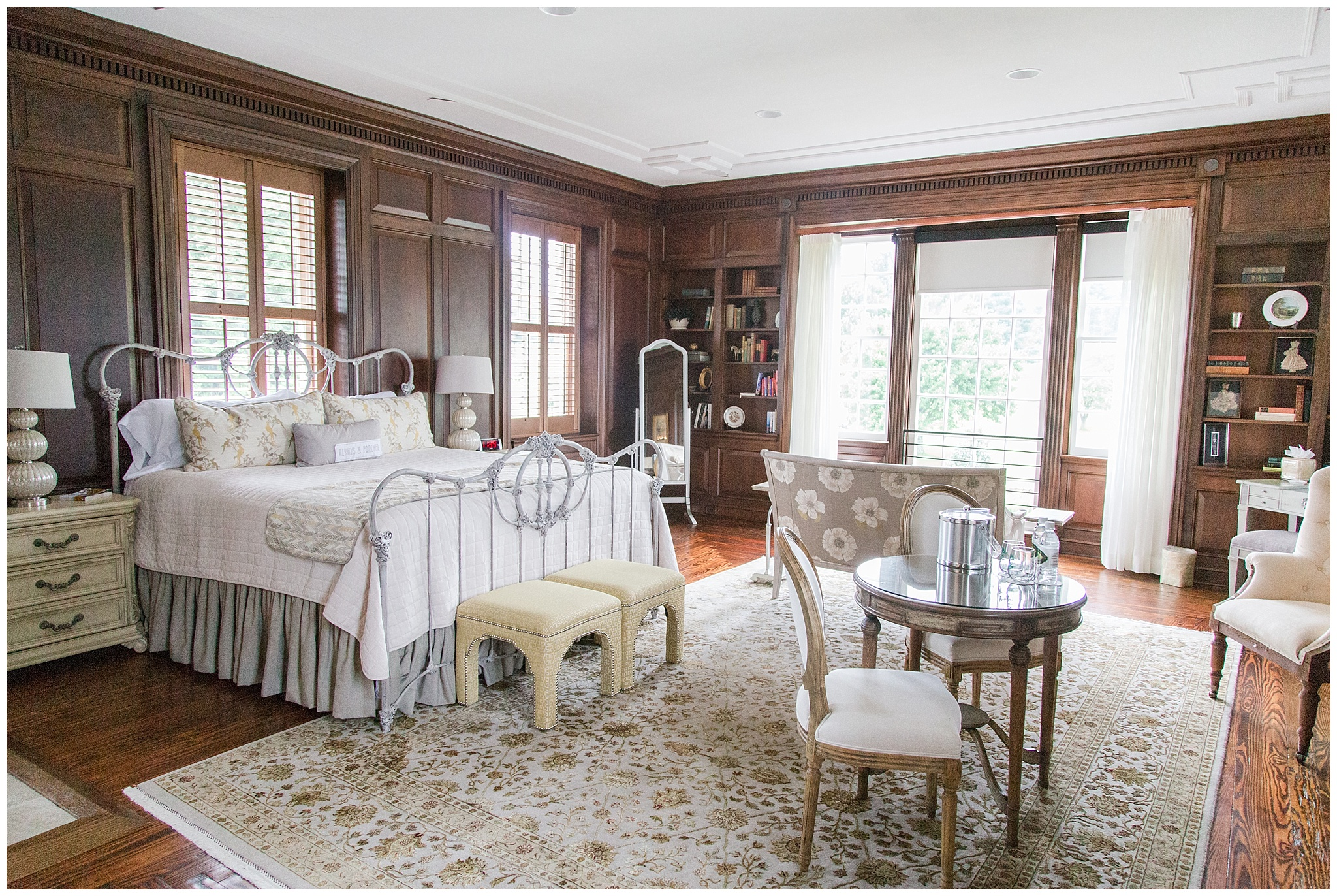 Honeymoon suite (and where bride and bridesmaids can get dressed)