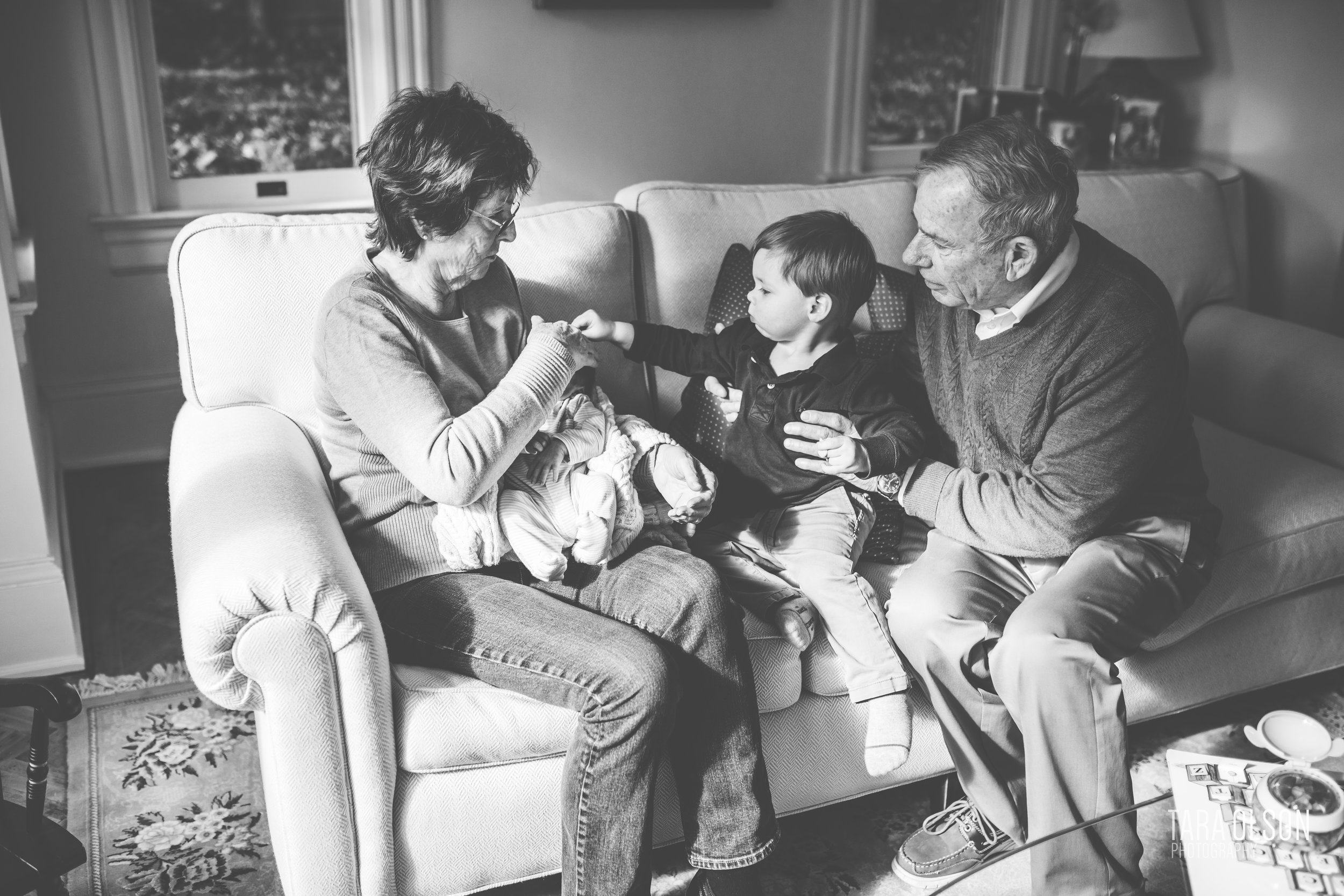 I love this image because it shows a deep connection between grandparents and grandchildren, and between two brothers.