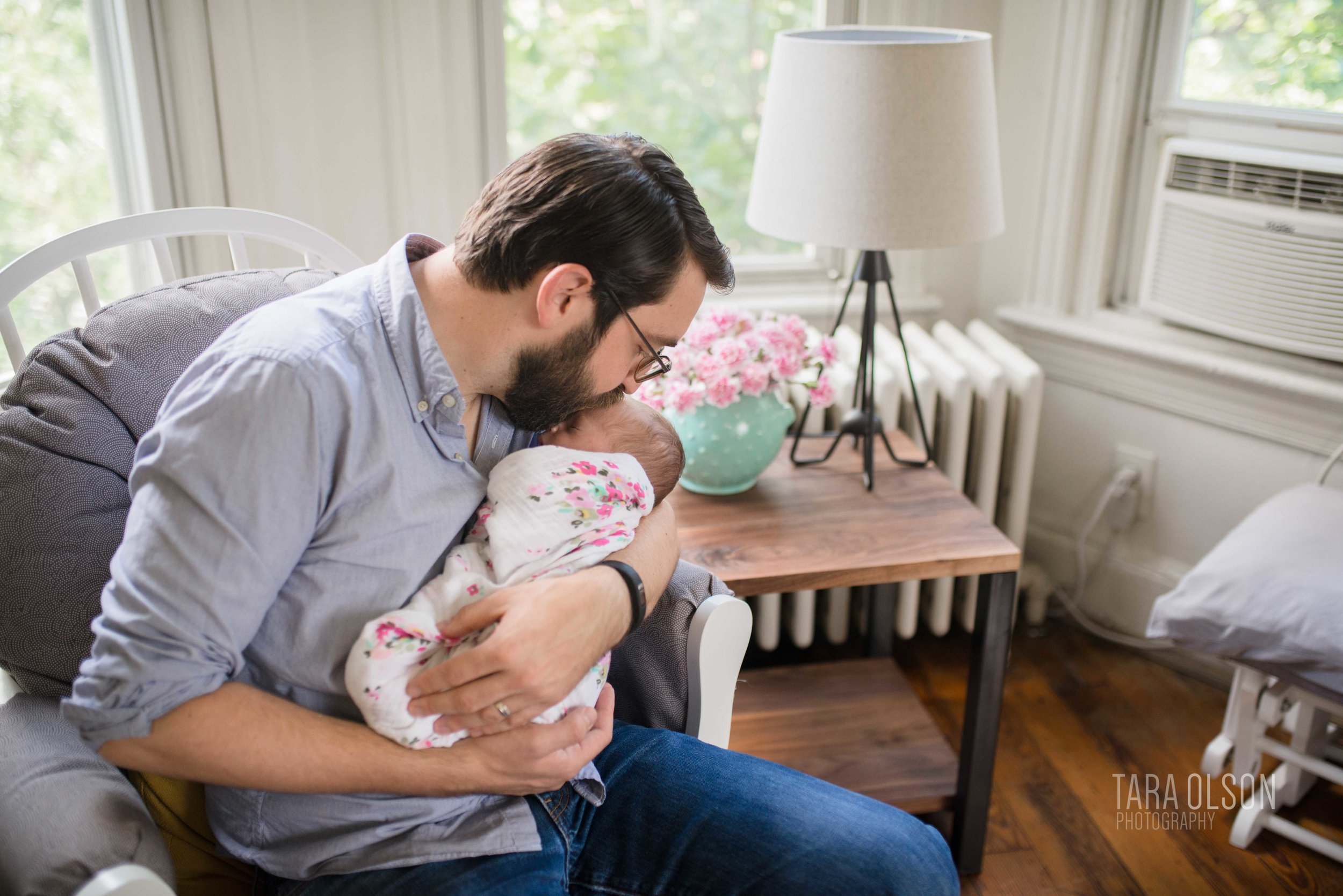Washington DC Newborn Lifestyle Photographer