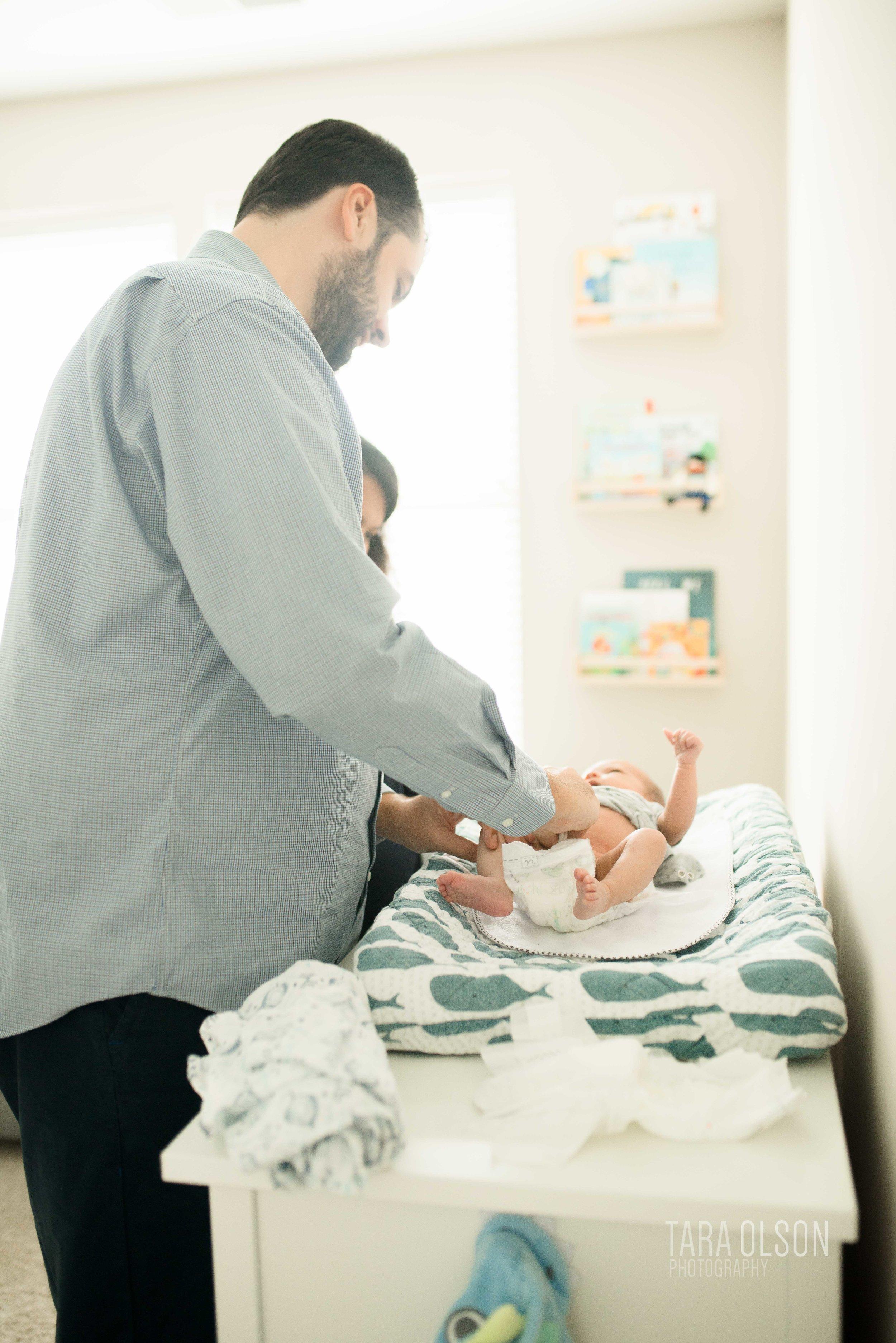 Alexandria, Virginia In Home Newborn Session