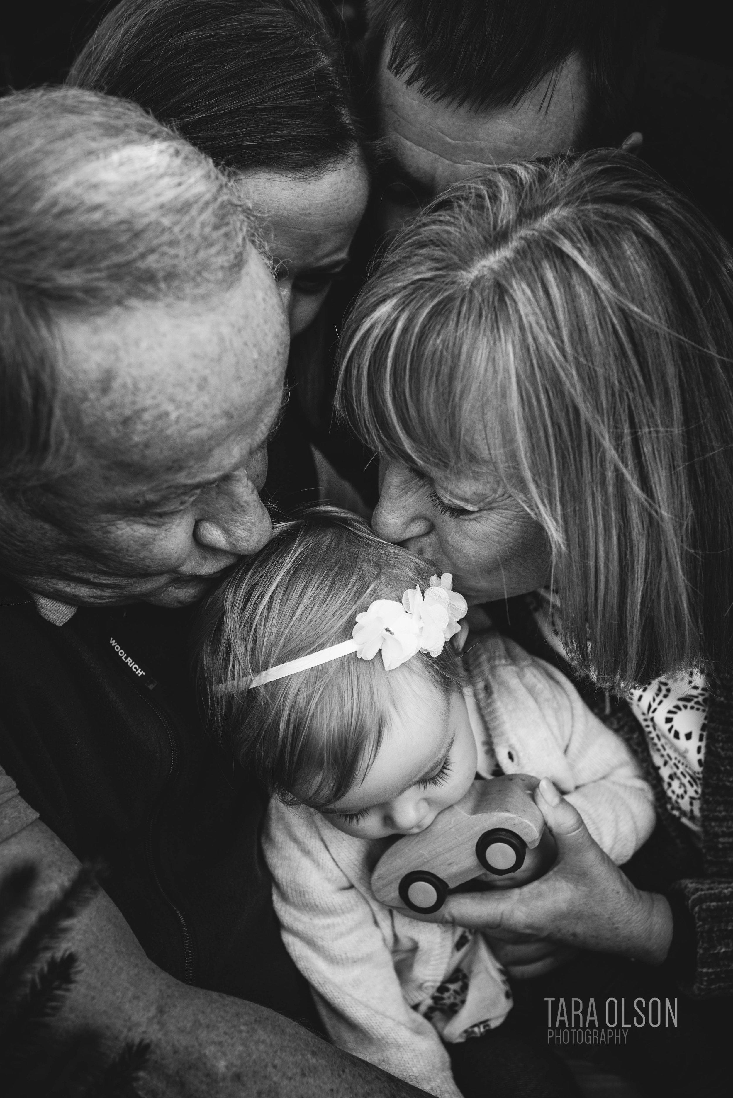 Northern Virginia Christmas Tree Farm Mini Session | Family Lifestyle Photographer