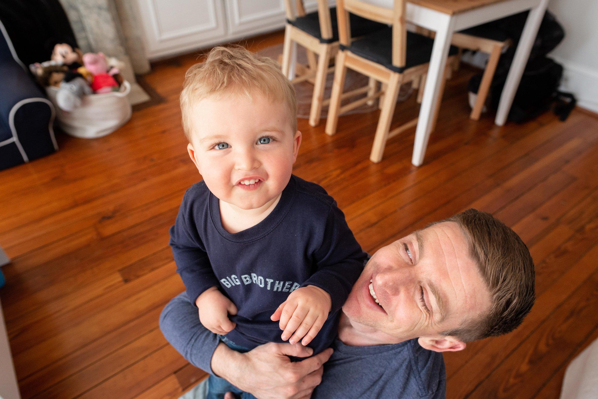 Georgetown DC Newborn Lifestyle Photographer
