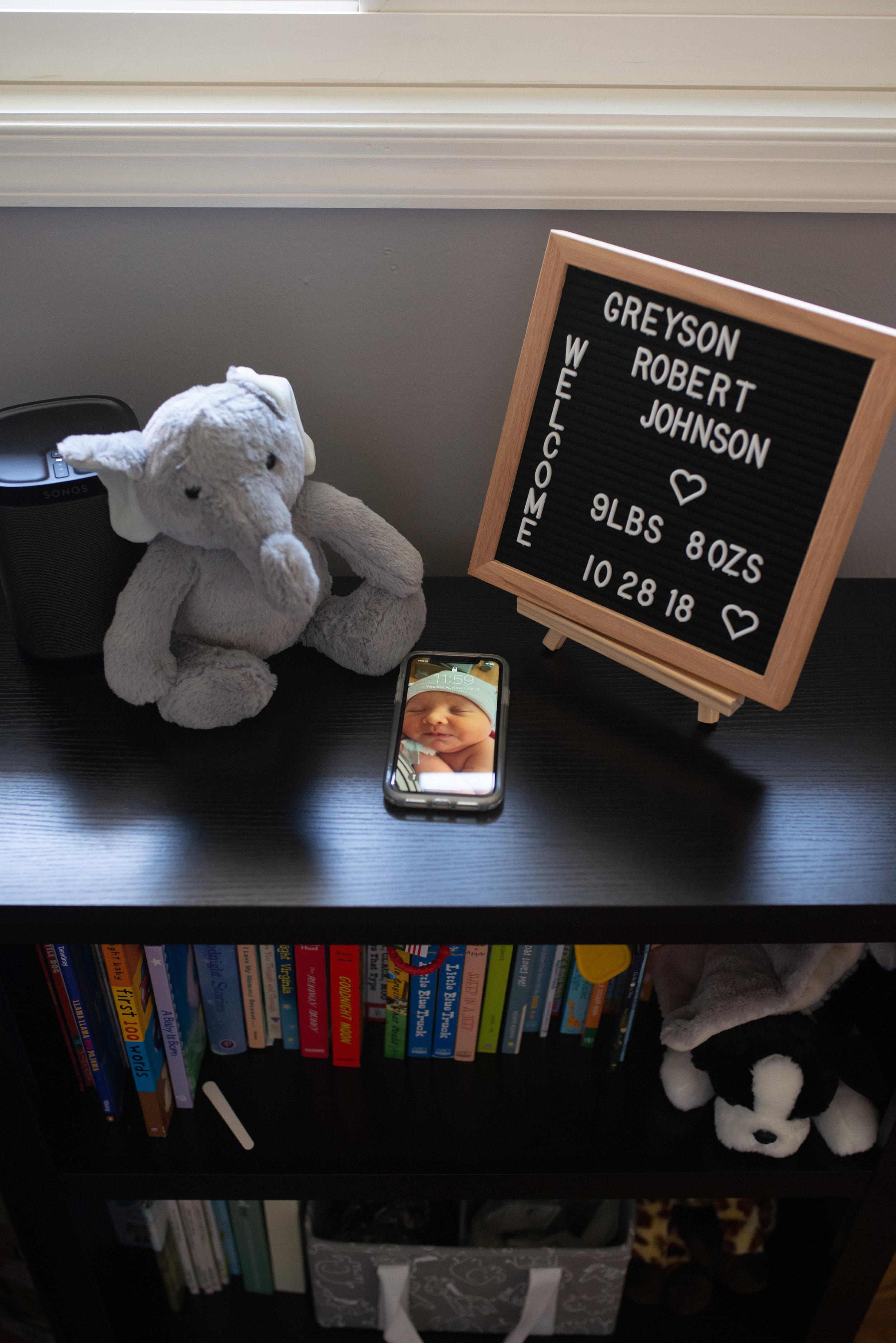 Arlington VA Newborn Lifestyle Photographer