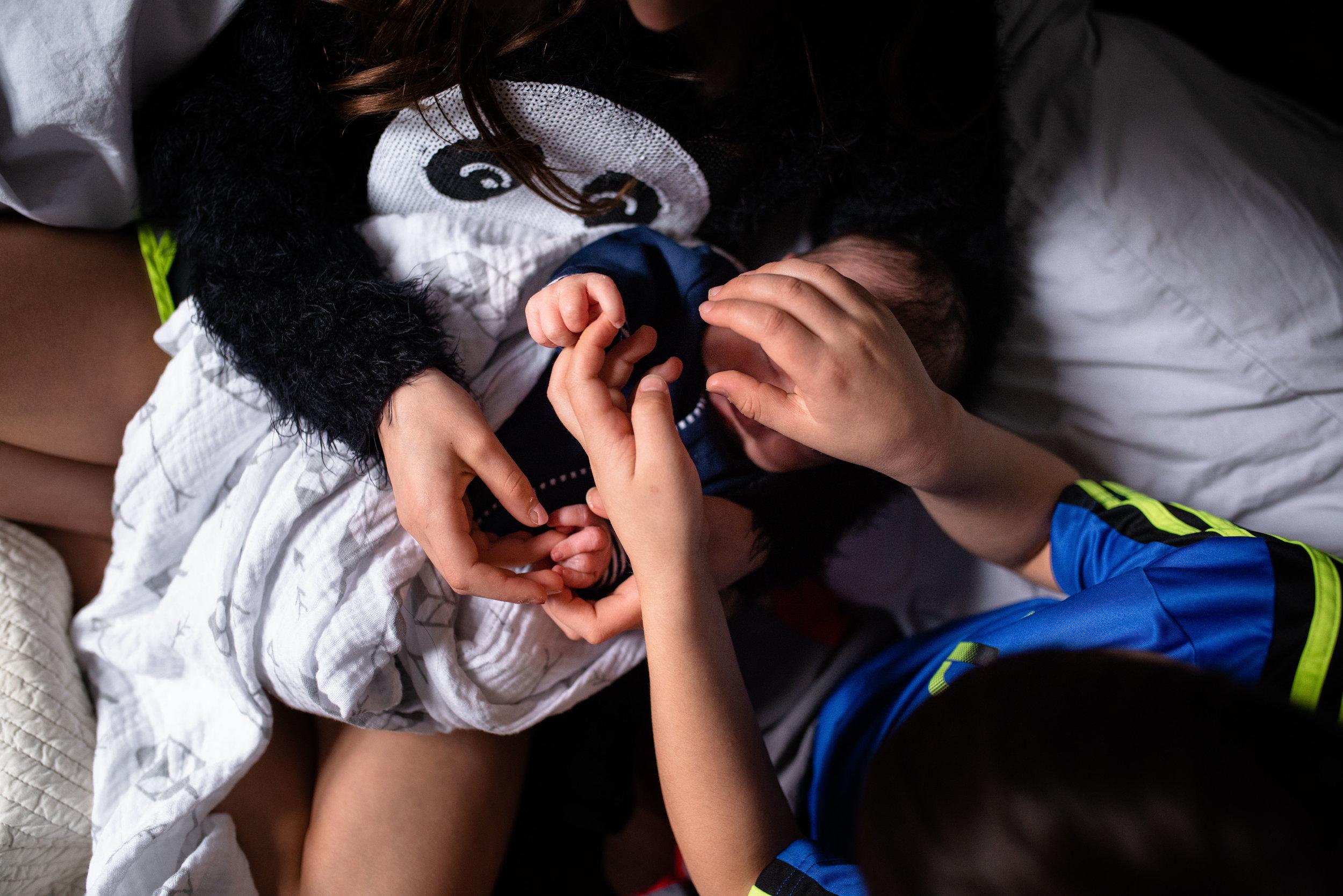 Lifestyle Newborn and Family Photography | Washington DC •Northern Virginia