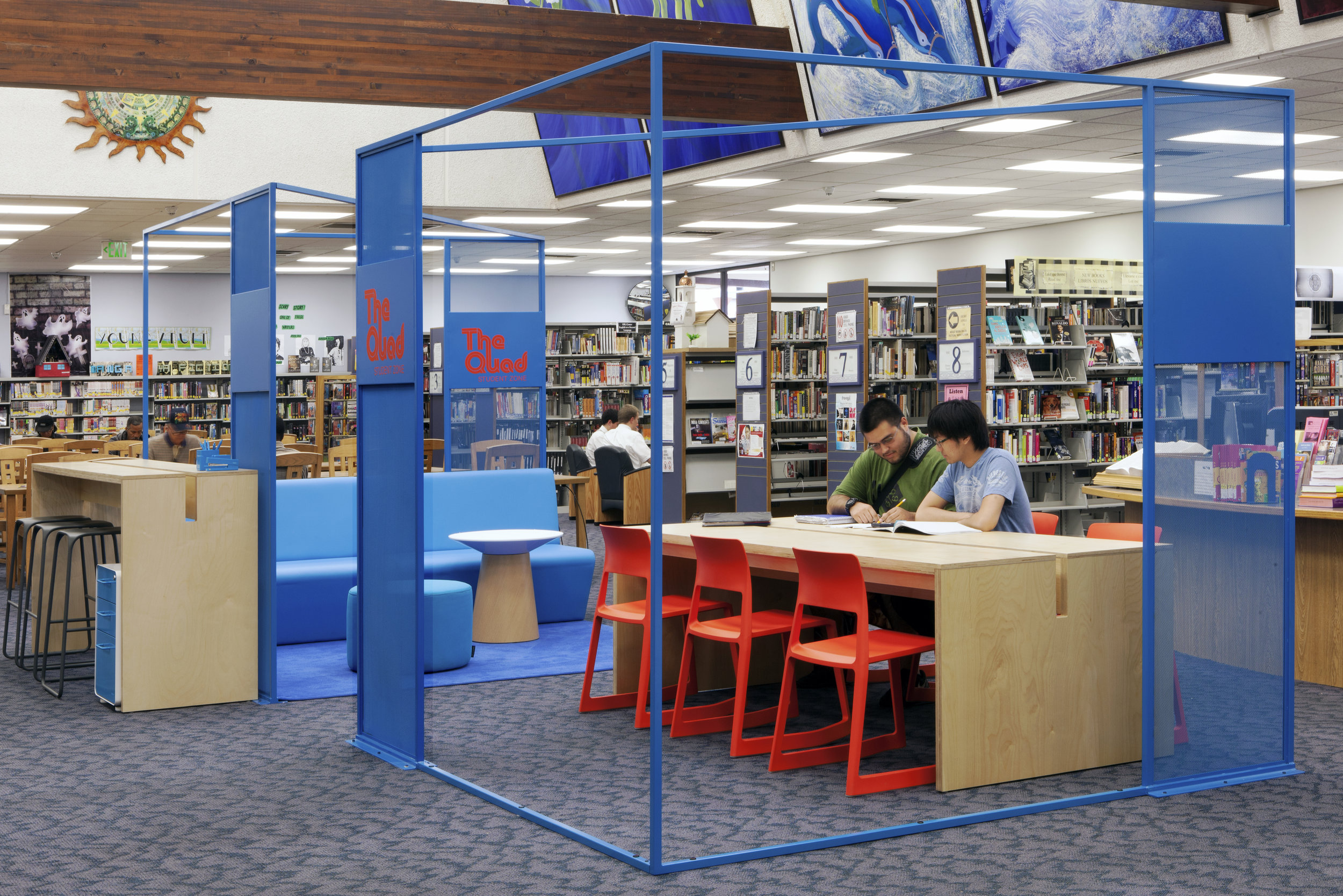 Student Zones, Los Angeles Public Library Foundation