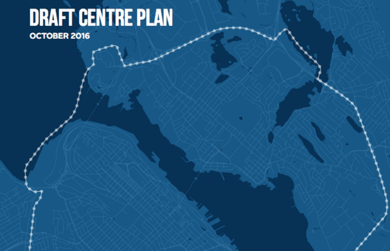 HRM Center Plan Aims to Make City More Pestrian-Oriented