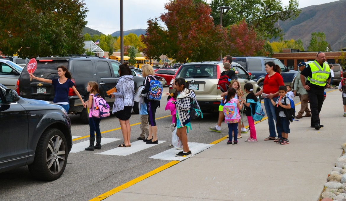 Traffic congestion is a problem that plagues many schools at a time when children are being driven to school in passenger vehicles (vs. walking, biking, public transportation or good old yellow school buses.)