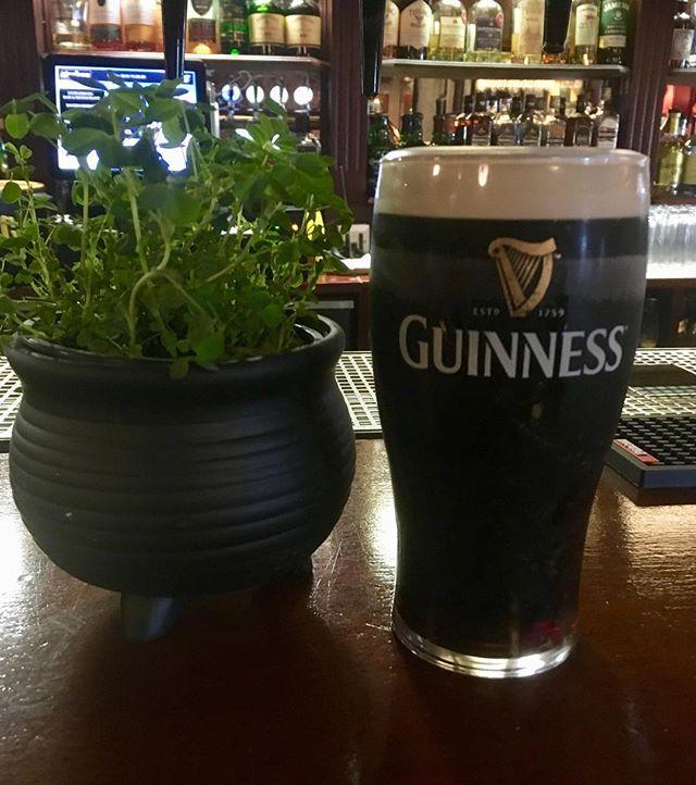 Lá fhéile Pádraig shona dhaoibh go léir from our new local ☘️☘️☘️☘️☘️🐍
