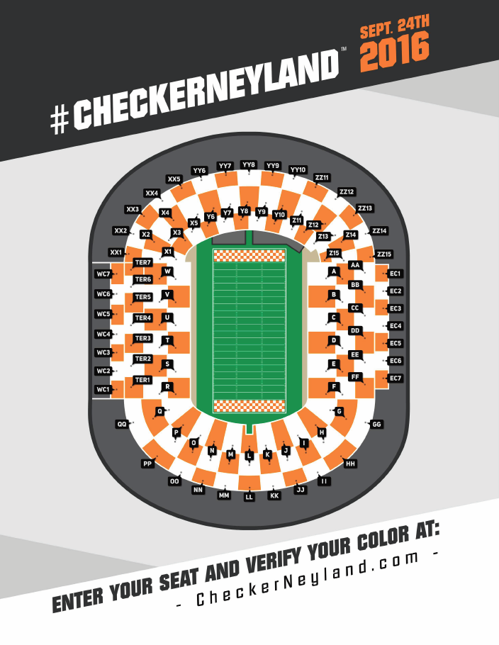 University of Tennessee Checker Neyland Map.png