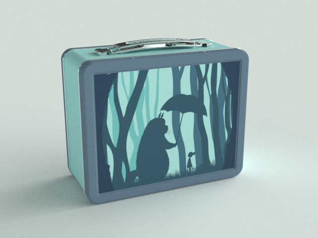 Lunchbox, Texture Mapping