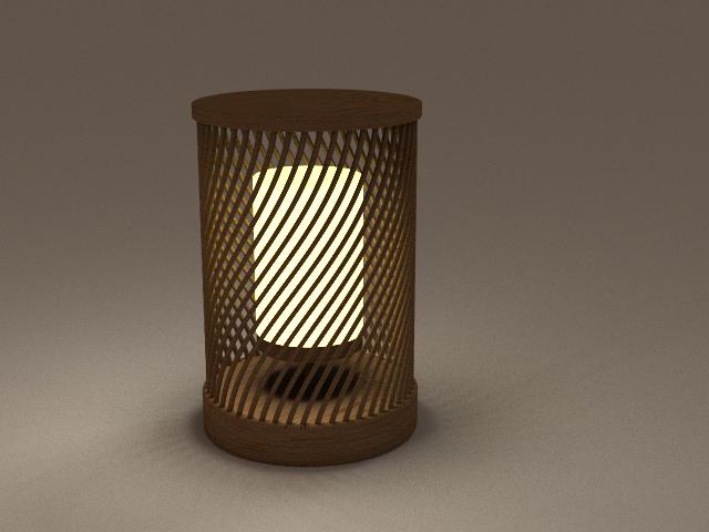 Bamboo, Lighting Product Design