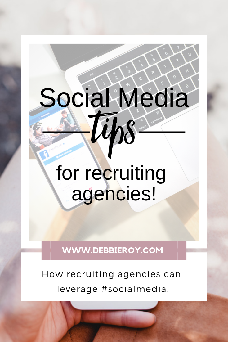 Social Media tips for recruiting agencies
