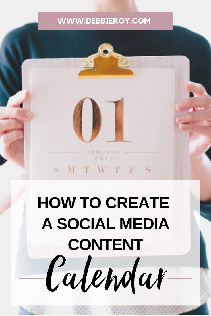 How to Create a Social Media Content Calendar!