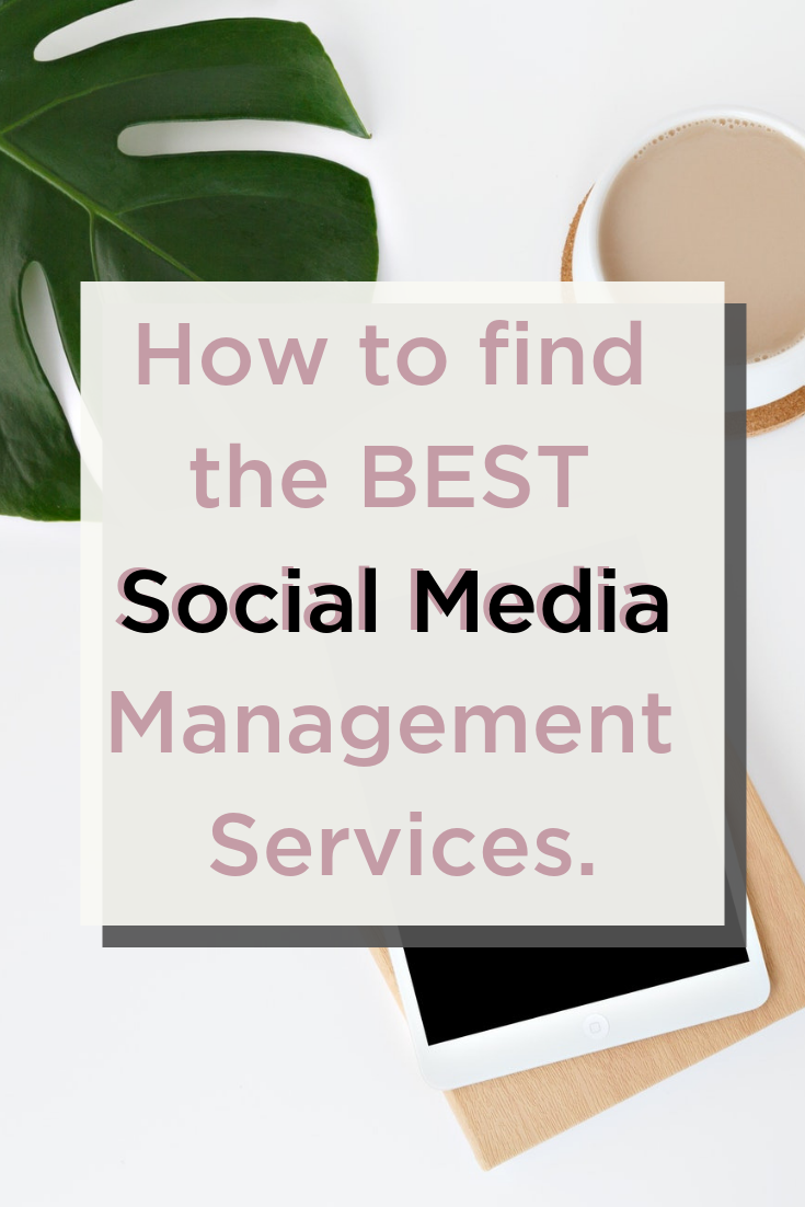 how to find the best social media management services