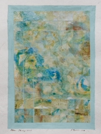 """Water Study No.1"" by Penelope Speier"