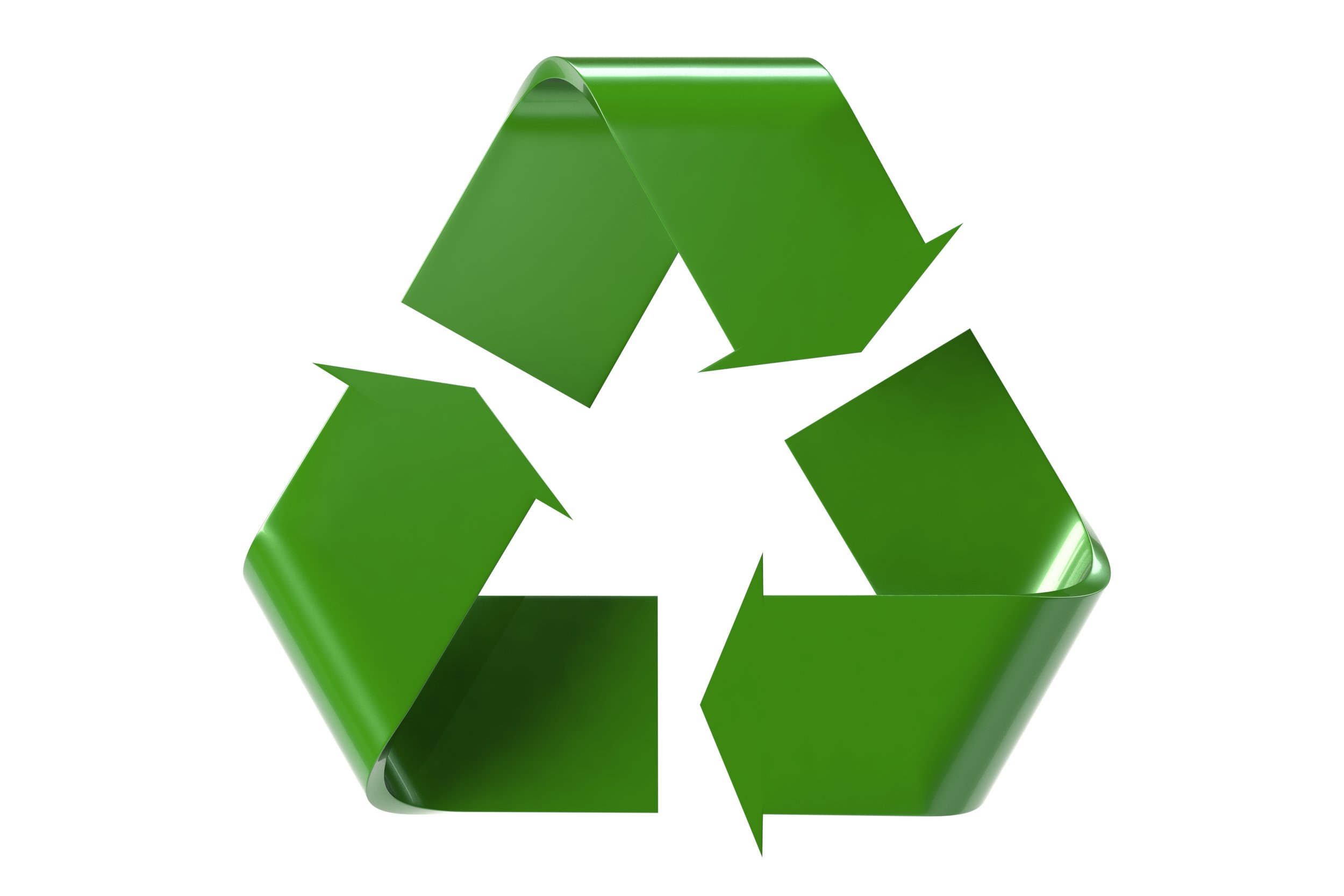 3D Recycle Logo by Chris Potter, ccPixs.com, January 1, 2013