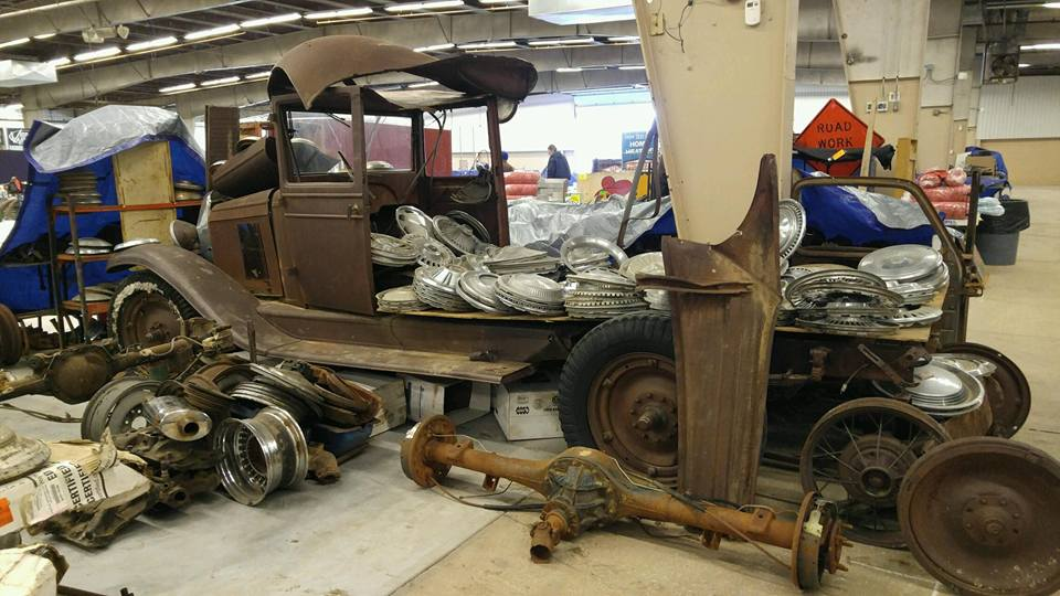 Parts, parts, and more parts! If you need it, chances are good that you'll find it at the 42nd Annual Kansas Sunflower Swap Meet February 3-4.