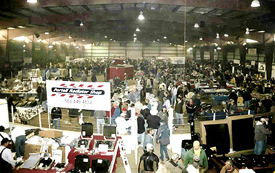 Vendors from 32 states will set up shop at the 19th Annual Automotive Swap Meet on February 10-11.