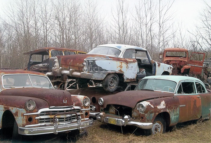 From the Dodge section, I can spot at least one truck and one station wagon.