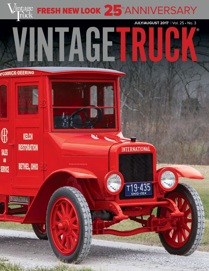 July/August 2017  VINTAGE TRUCK  COVER