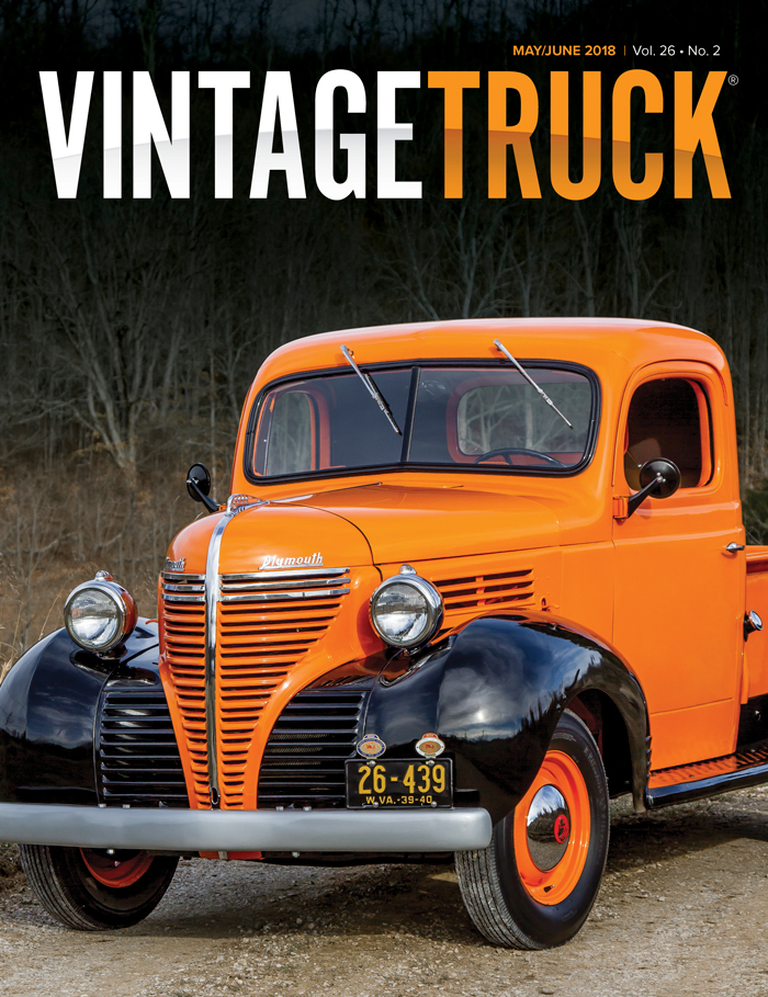 May/June 2018  Vintage Truck Cover