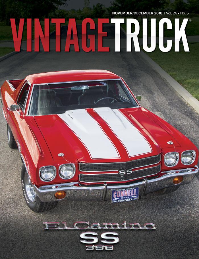 November/December 2018     Vintage       Truck    cover