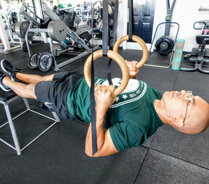 Alex  Alex began his training career over 15 years ago when he lost 120 lbs. He began his training career with an interest in bodybuilding, but has expanded his focus into gymnastic strength & flexibility training. Alex practices Shaolin Kung Fu and Sanda.