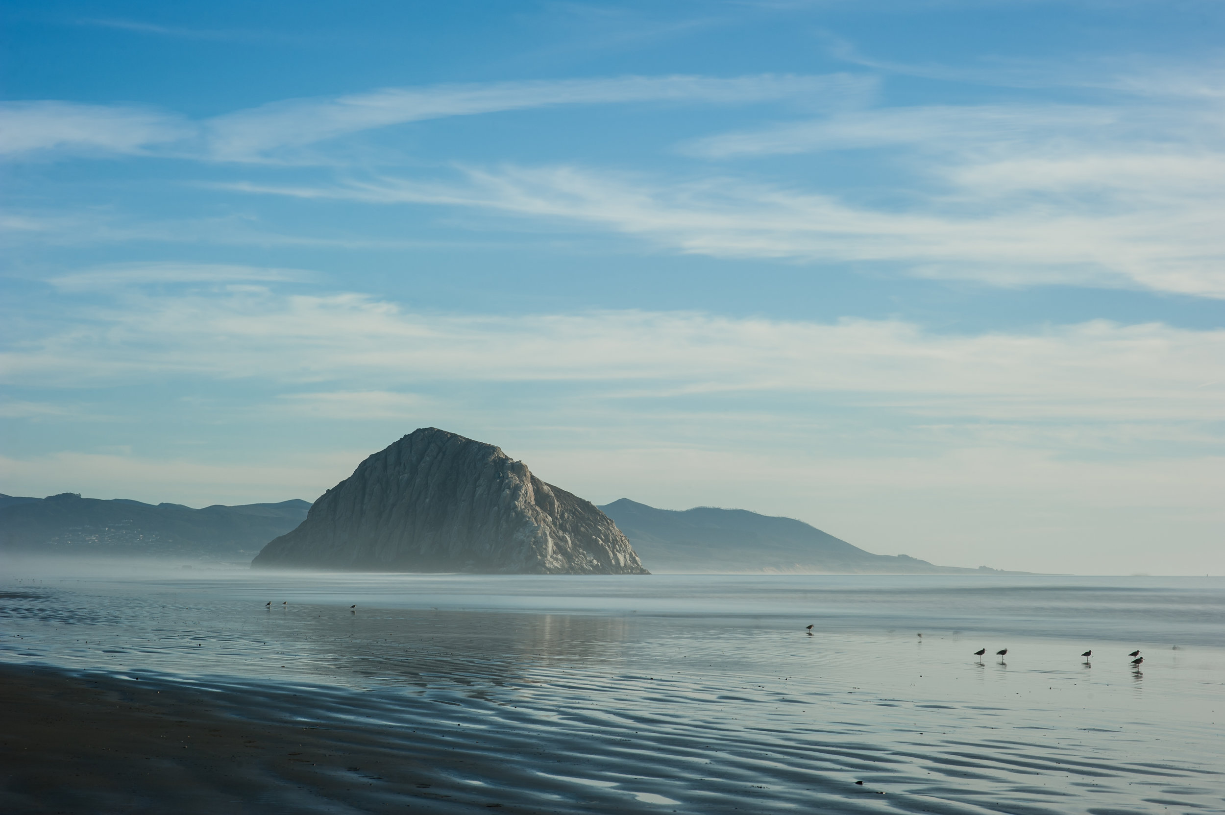 Morro Bay Rock  || 10s exposure