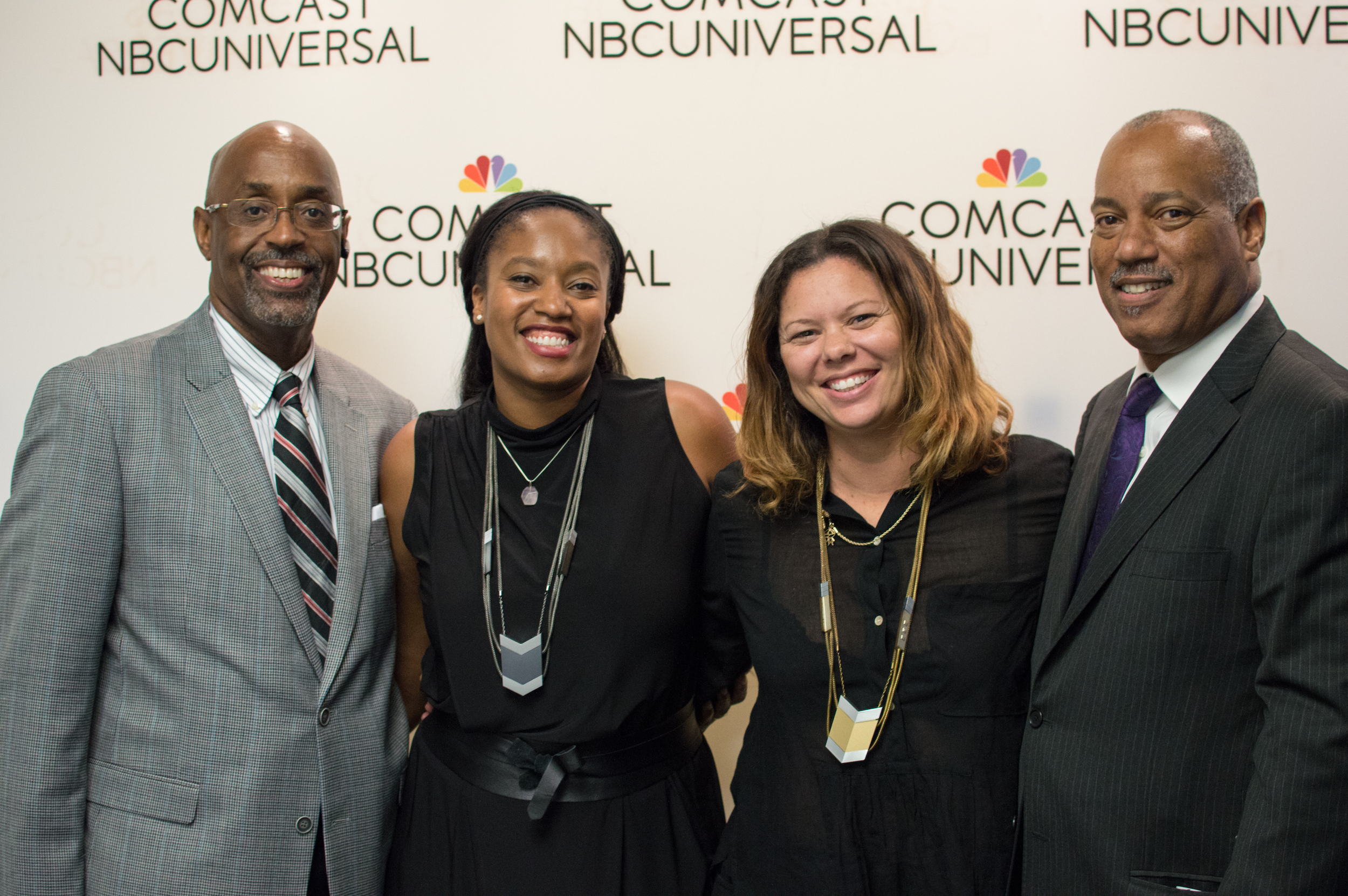 The Black & Brown Founders Team: (from left) Thom Webster, Aniyia Williams, Liane Dutton, Kevin Williams