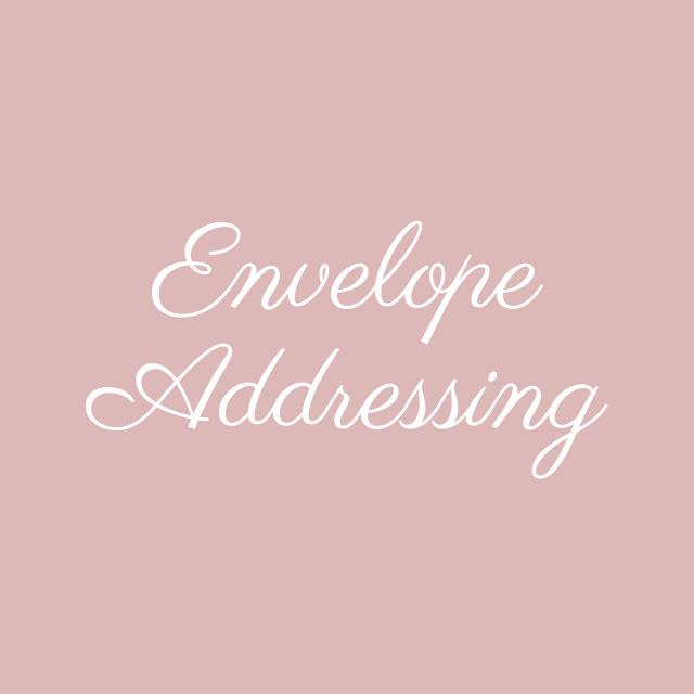Blooming Flourishes_Modern Calligraphy_Envelope Addressing