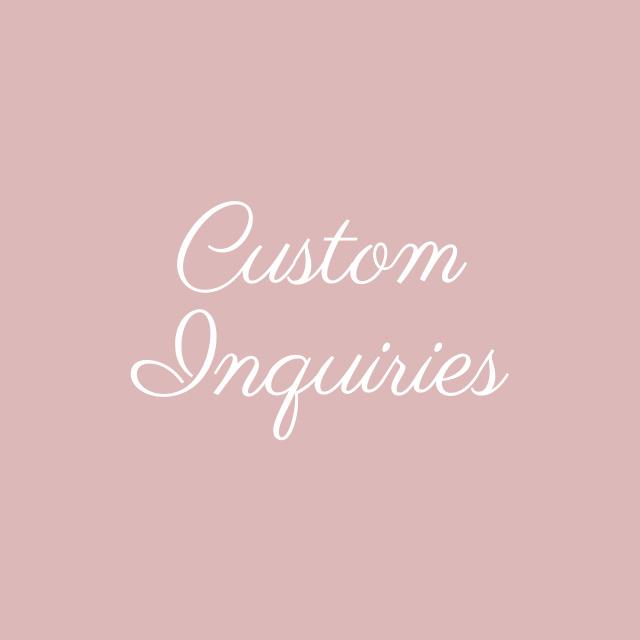 Blooming Flourishes_Modern Calligraphy_Custom Inquiries