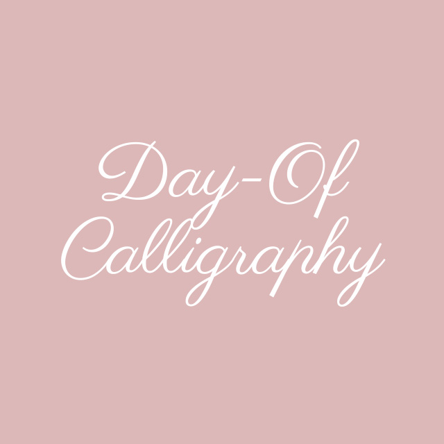 Blooming Flourishes_Modern Calligraphy_Day Of Calligraphy