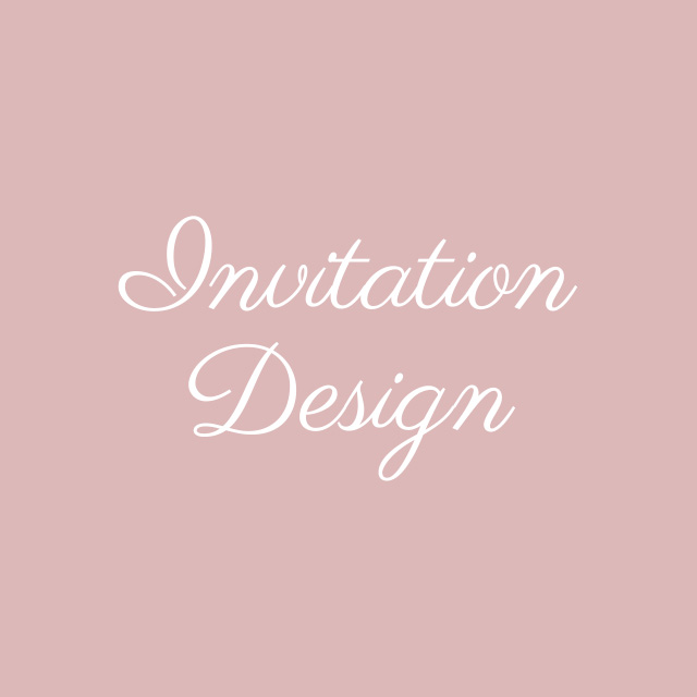 Blooming Flourishes_Modern Calligraphy_Invitation Design