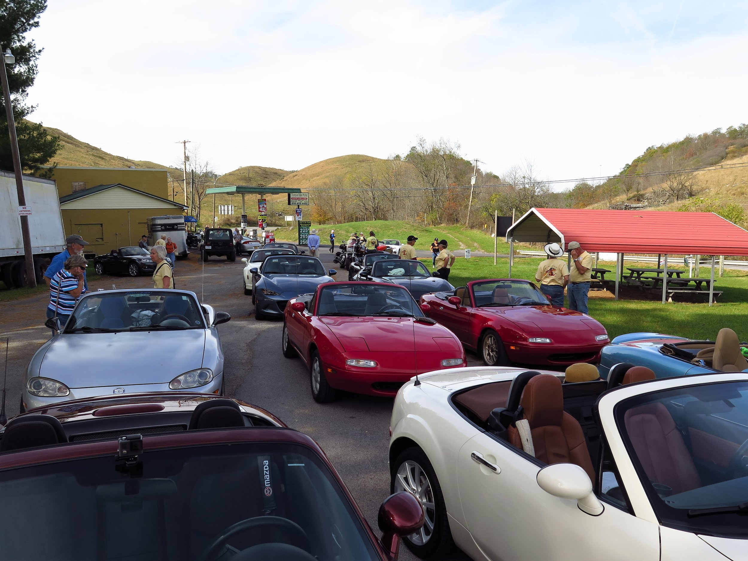 Thomas Valley Market- Route 16  VA- A great place to start or finish when riding The Back of the Dragon. Fill up the tank, grab some snacks and even hats and T-shirts.