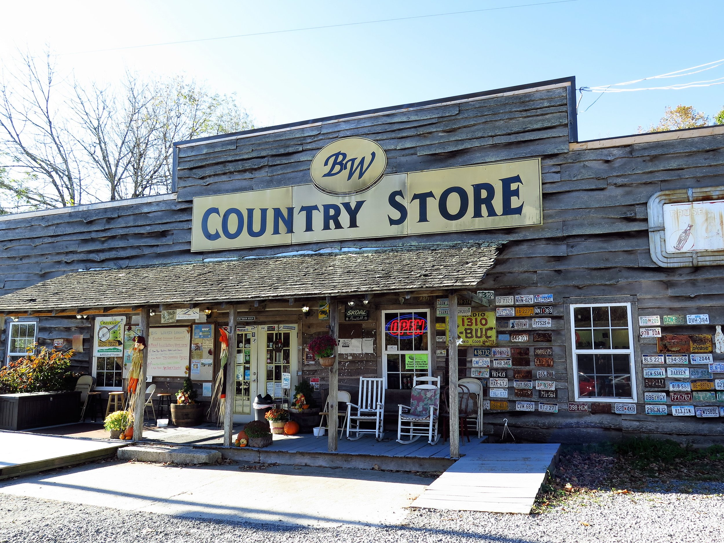 This country store is located in Wytheville, Va. A good bit of history and a look out tower to climb and see the surrounding landscape.