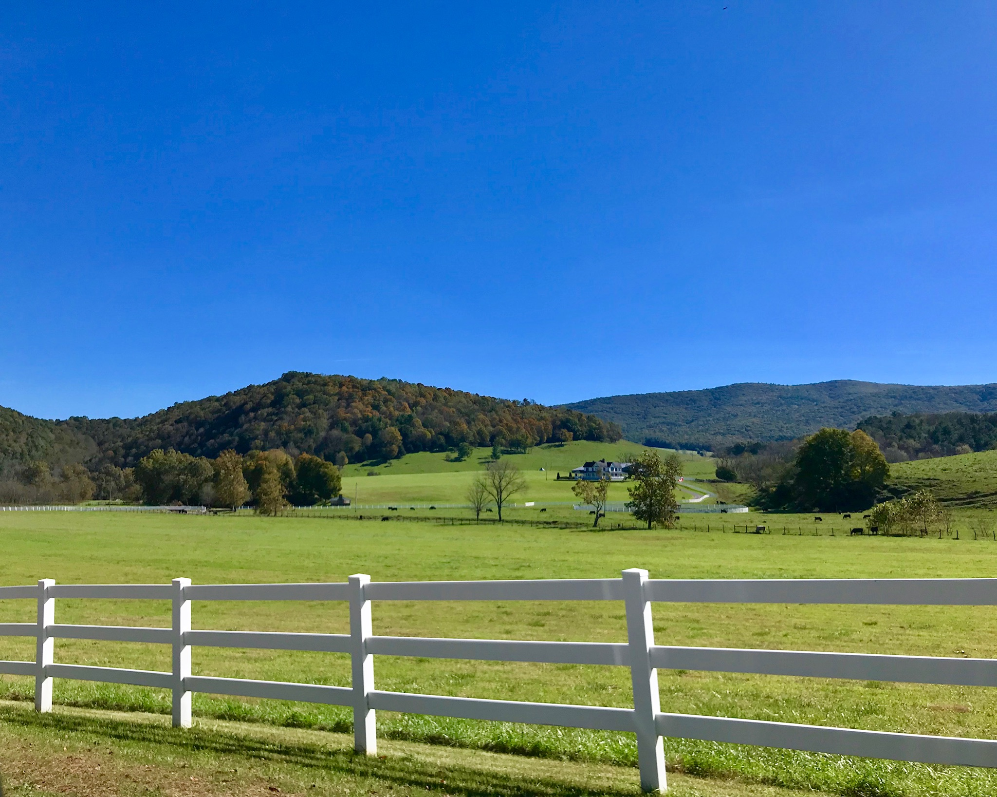 More beautiful scenery as we drove from Marion to Fries, VA.