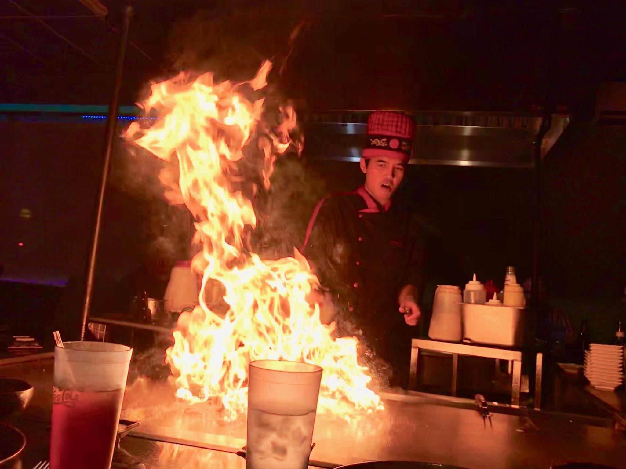 Friday night dinner at Tokyo Japanese Restaurant in Wytheville, VA