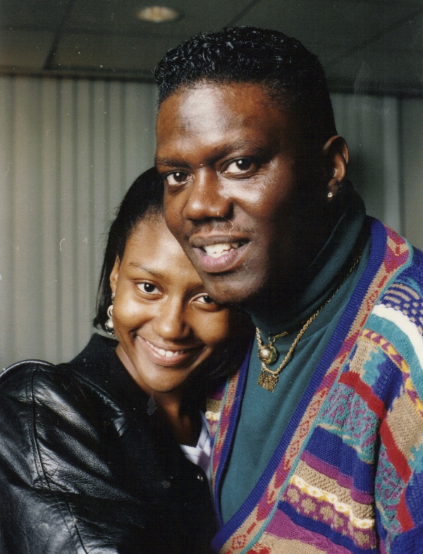 Je'Niece Mccullough with late father, comedian, actor Bernie Mac