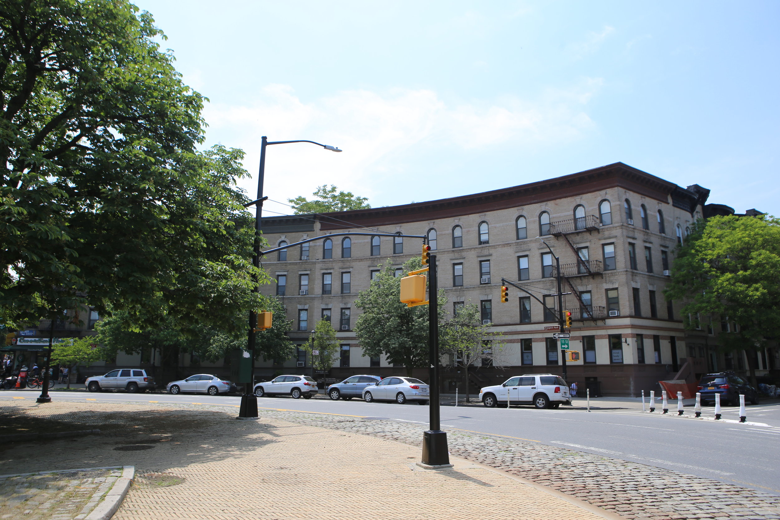 Traffic Circle at 200 Prospect Park West