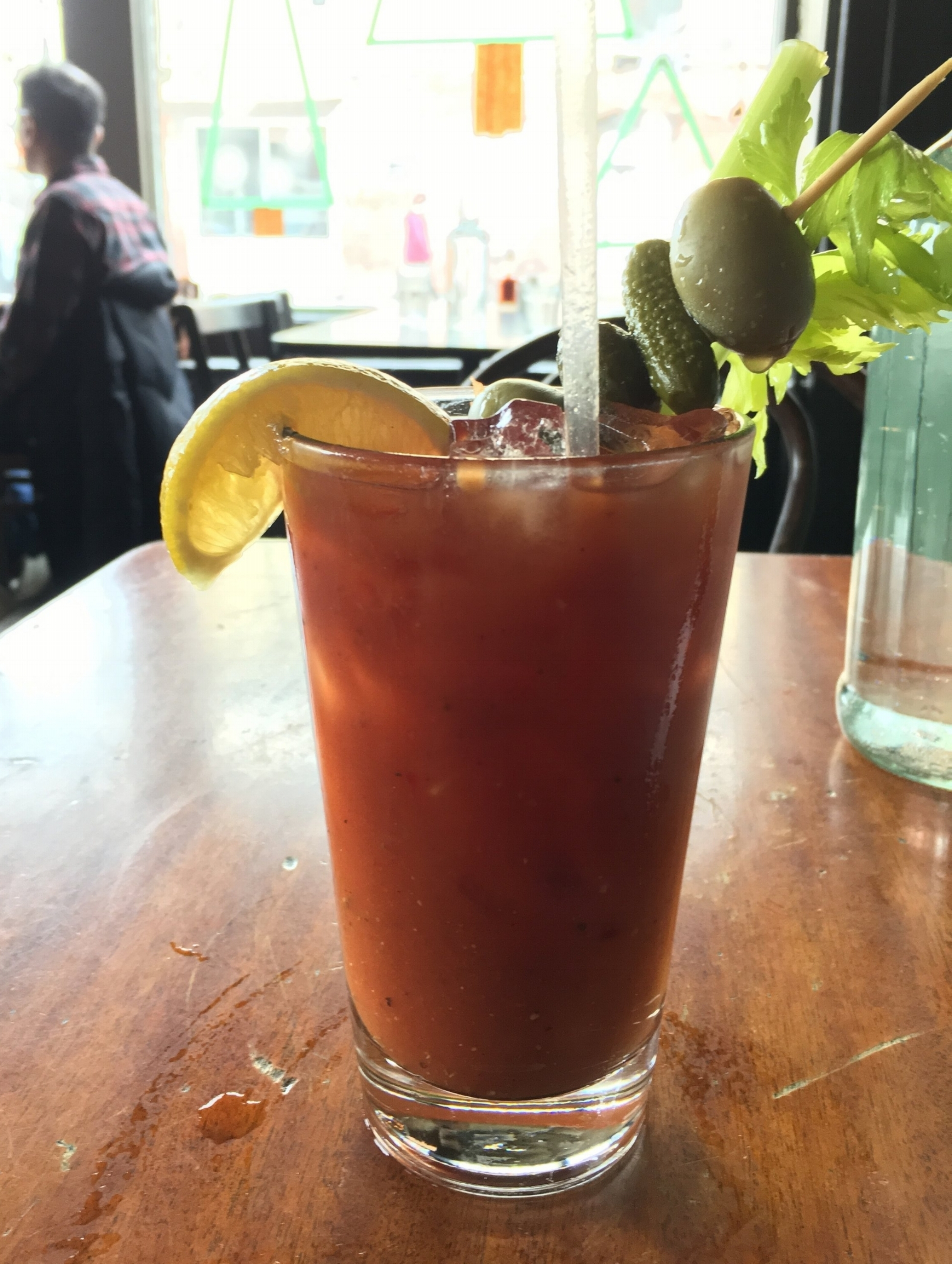 Brunch  Brunch is de rigeuer on the weekend and the weekdays for those so lucky. Have a Bloody Mary or a Champagne cocktail to go with your sweet or savory tastes. Whether you want to feast or just nibble and sip it's a win win situation.