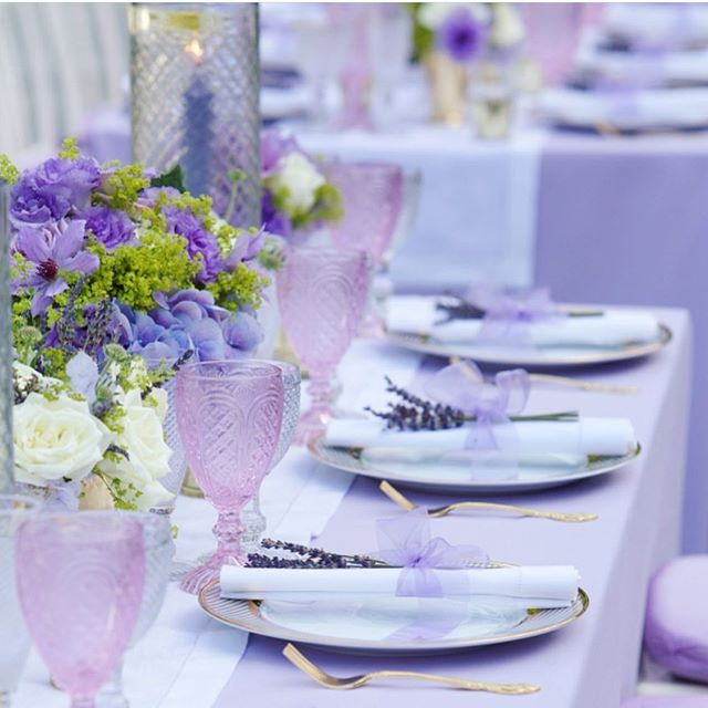 How beautiful was this Hamptons dinner table. I loved working with @rubystoneevents on this wonderful event. Not only is lavender my favorite flower of the moment I must say I love the scent as well. Just one of the many reasons I love summer so much.