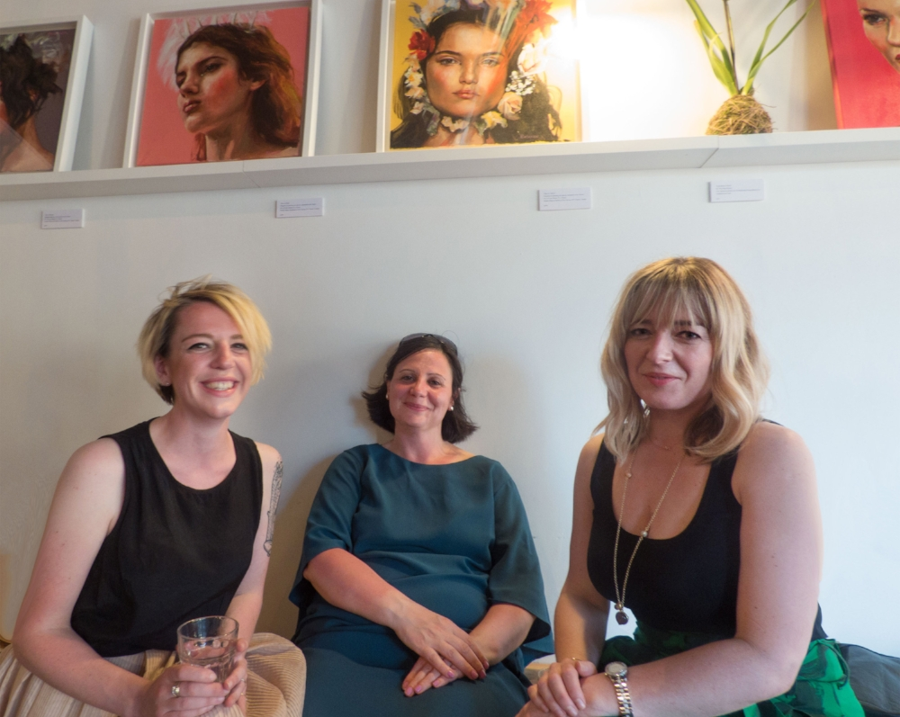 Dr. Alison Peirse of York University, Matilda, Sarah of ITV