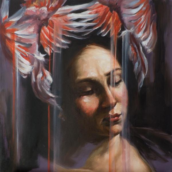 'Artemisia as a Bride', oil on canvas, 2017